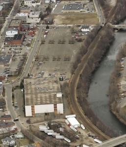 """NEDC CEO Dave Prendergast said the Renaissance Place project, site pictured above, is """"making strides"""" despite red tape and developmental hang-ups."""
