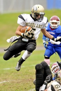 Woodland's backfield depth includes the versatile Fowler and will be the key to offensive success against the Wildcats.