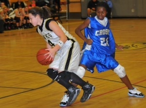 Nothing Shydeesha McLean and Crosby did Tuesday night could trip up Kelsey Deegan and Woodland, as the Hawks improved to 3-0.