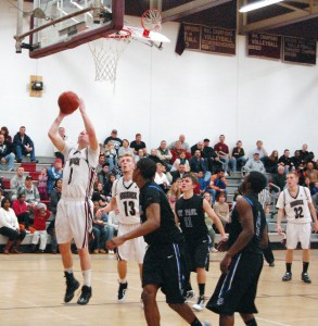 Having leading scorer Warren Buerkle (14 points) back in the lineup helped Naugatuck's cause Friday, but the Greyhounds couldn't hold on to a halftime lead and lost to St. Paul, 55-47.