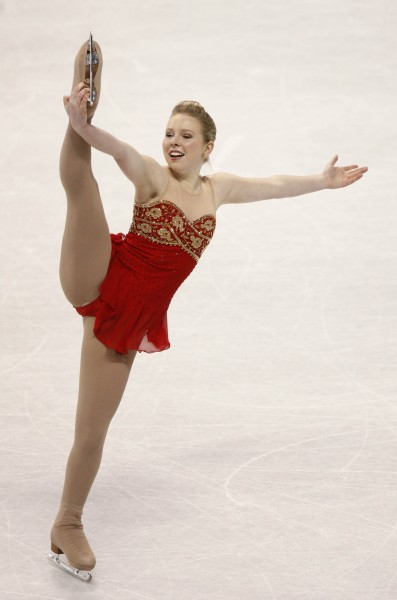 You might as well learn the name now: Rachael Flatt, Team USA's top ladies' singles figure skater, heading into Vancouver.