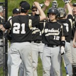 It's high fives all around for the Woodland baseball team, which has won seven of its last eight games, including this week's 7-1 win over Naugatuck and 7-4 victory over Holy Cross, previously unbeaten in the NVL.