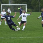 The Woodland girls' soccer squad finished fourth in the N.V.L. this season and look for strong results in the conference and state tournaments.