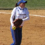 Former Greyhound Alana Wesche is off to a fast start with the University of New Haven. Wesche, who was an All-State pitcher for Naugatuck, took a year off from softball but returned this year and holds a 6-2 record thus far. FILE PHOTO