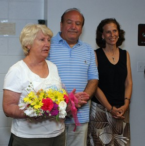 From left, Democratic incumbents Patricia Geary, Michael Scaviola, and Theresa Graveline are running for reelection in November.