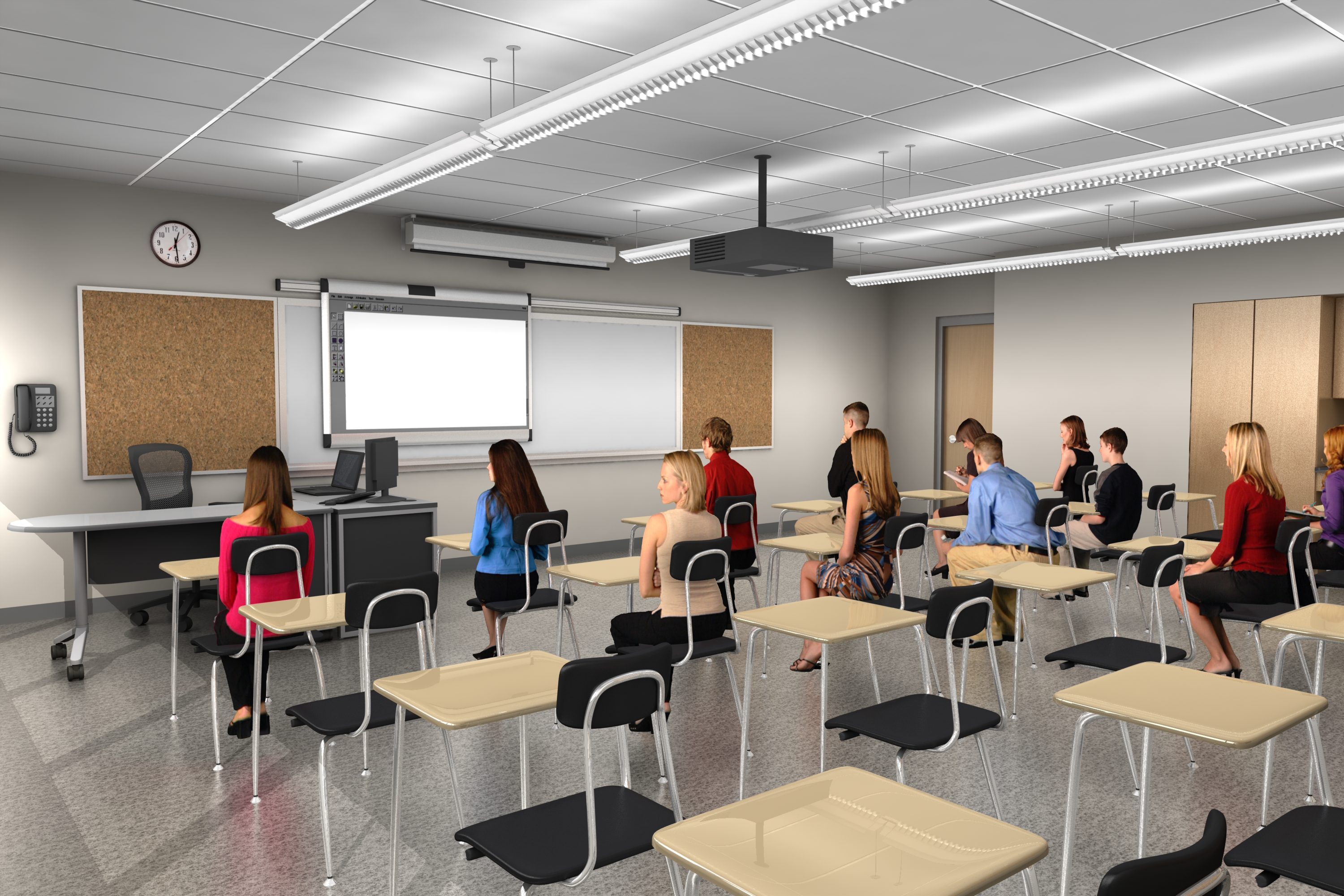 Modern School Classroom ~ Nhs renovation project to overhaul education too citizen