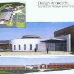 An artist's rendering of the proposed new elementary school in Prospect. CONTRIBUTED