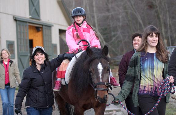 Riders find healing at Hidden Acres