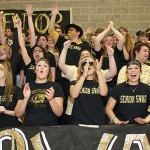 Woodland students screamed for the Hawks at their pep rally Nov. 23 before the big football game vs. Seymour that night.