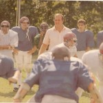 Former Naugatuck head coach Craig Peters, seen here in 1988, was among the most successful coaches in Connecticut high school football history.