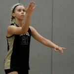 Tayler Boncal and the Woodland volleyball team suffered their first loss of the season in the NVL tournament quarterfinals on Friday at Kennedy. RA ARCHIVE