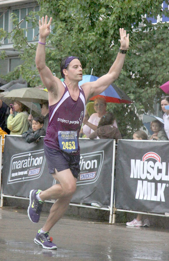 Running to beat cancer
