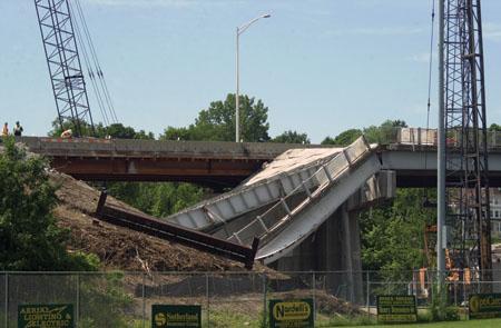 Worker in borough bridge collapse sues subcontractors