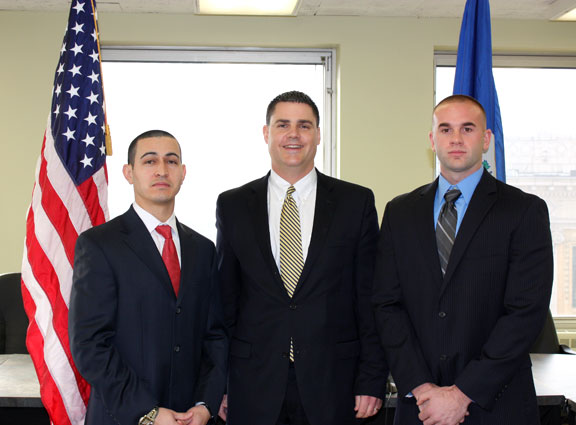 Two new officers join ranks of NPD