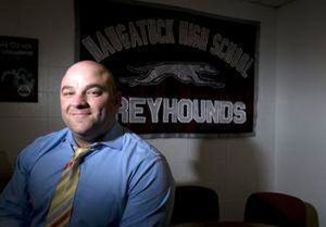Naugatuck High School Dean of Students Tom Pompei resigned as athletic director Feb. 12 after serving in the role for 10 years. He is remaining on as dean of students. –RA ARCHIVE