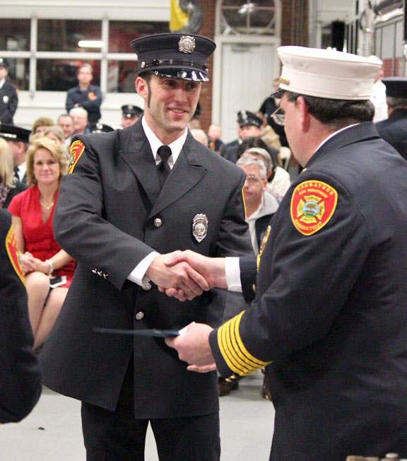 Borough honors firefighters