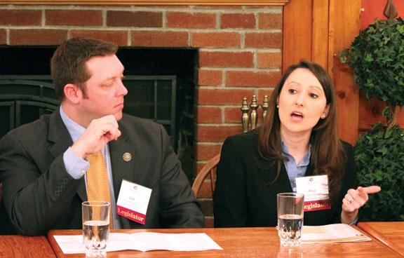 Legislators talk issues over breakfast