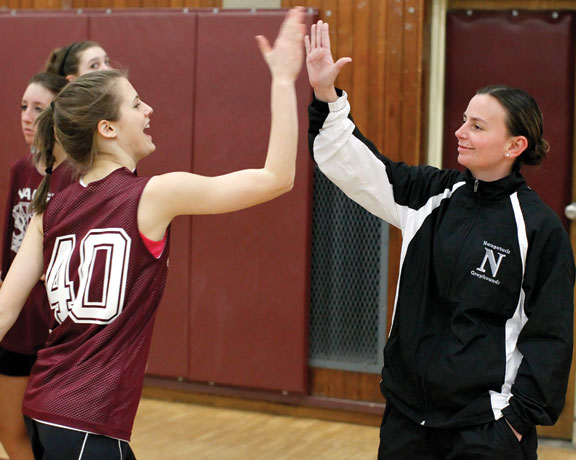 Greyhounds' girls hoop family deals with real life test