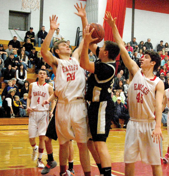 Red-hot Hawks win fourth straight, earn spot in NVLs
