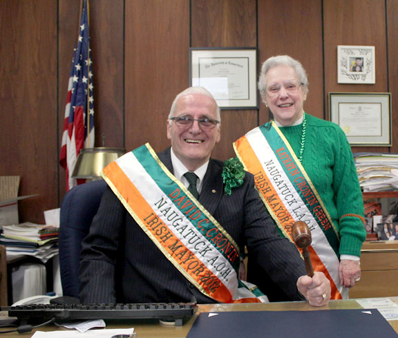 Borough celebrates Irish heritage