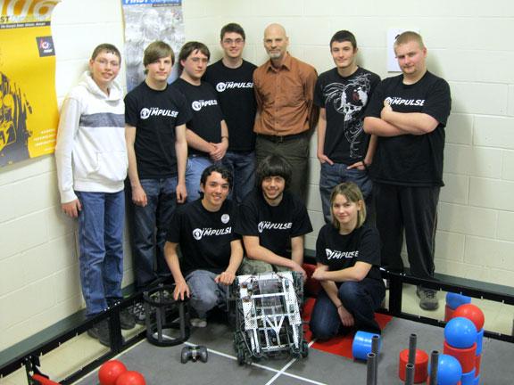 Woodland robotics team heading to world competition
