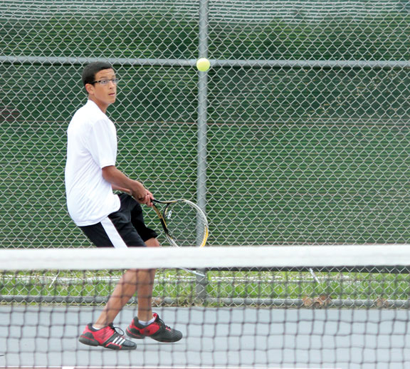 Future looks bright for Naugy tennis