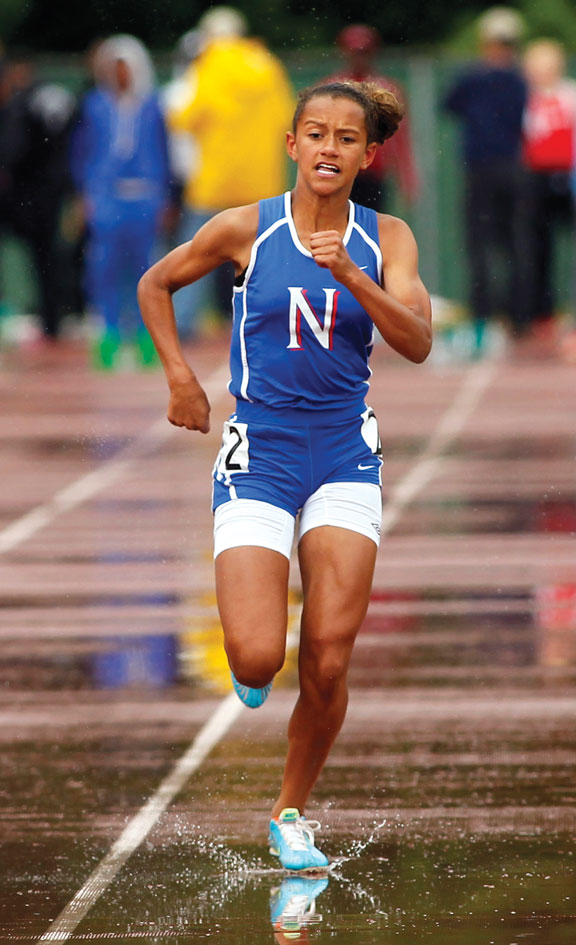 Pernell races on the scene for Nonnewaug track