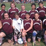 Naugatuck Youth Soccer's U10 girls pool group attended the Cheshire Quinnipiac Valley Invitational Tournament. The group played four games and won each. The developmental group is coached by Paulo Cruz, Garid Gravel and managed by Vicki Krooss. –CONTRIBUTED