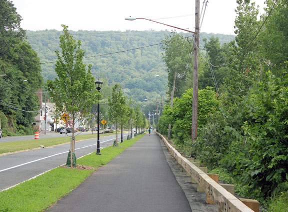 Beacon Falls streetscape nearly complete