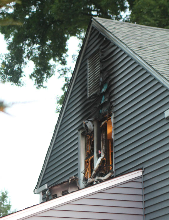 Fire destroys bedroom in borough home
