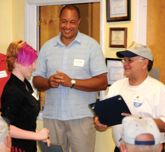 American Legion Post 25 recognizes volunteers