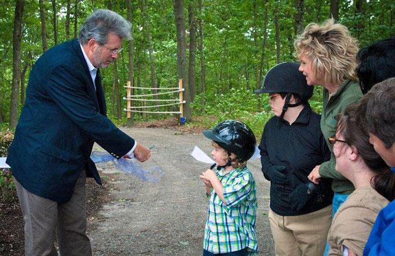 Michaela's Trail opens at Hidden Acres