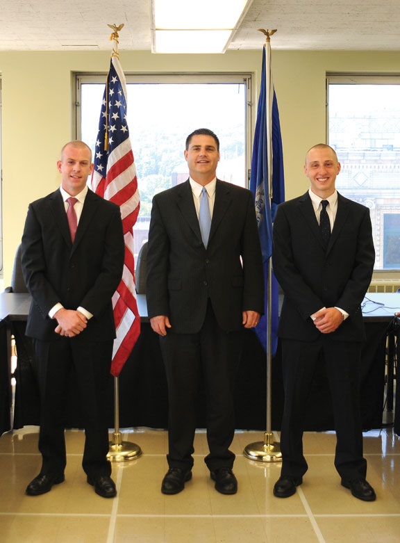 New officers join ranks of police department