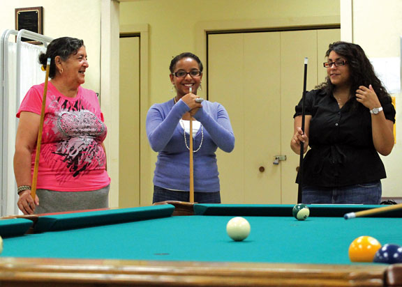 Teen finds new opportunity at senior center