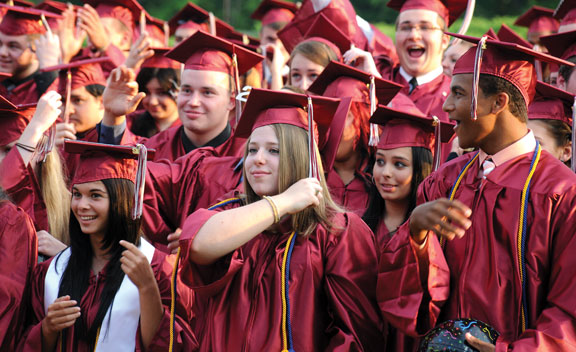 NHS Class of 2013 to graduate at the Palace