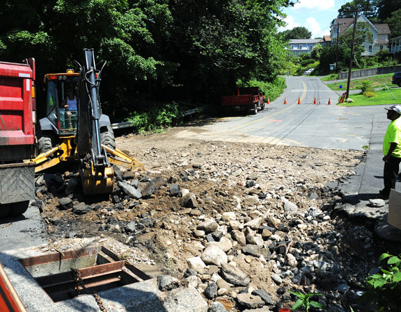 Clean up, damage assessment continues in borough