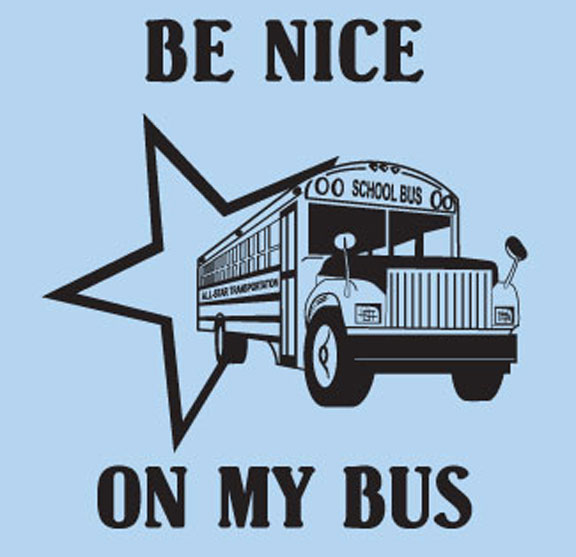 School bus drivers to participate in Blue Shirt Day