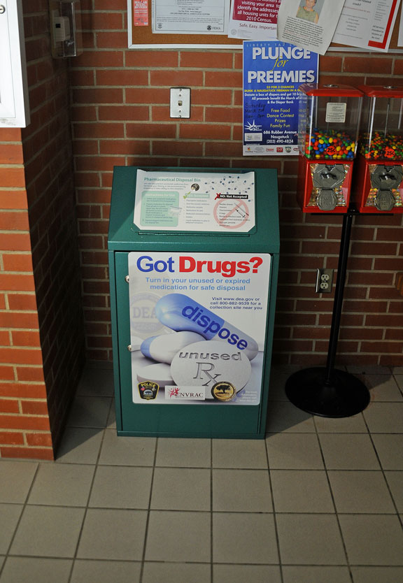 Unwanted meds can be dropped off at PD