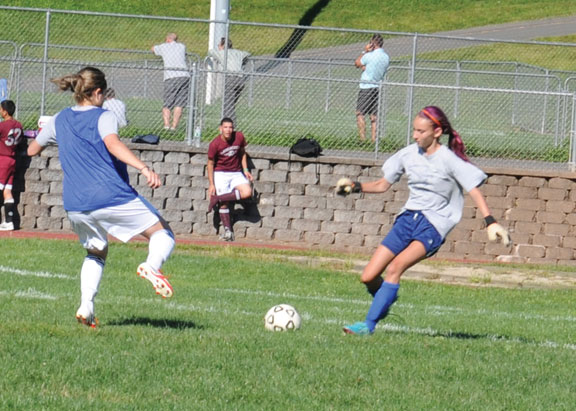 Naugy girls look to finish strong this season