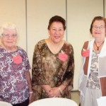 Winners of a spelling bee held recently by the Prospect Senior Center, from left, Ann Egan (second place), Jeanette Elsa (third place), and Dorothy Hayes (first place). Other participants in the bee were Betty Thomas, Jean Corbett, Pat Herren, Jean Lampron, Dotty Gionet, and Cheryl Roshka. The spelling bee was sponsored by the Senior Center Book Club. Marie Delage and Beth Whelan organized the bee with the help of Claire Decker and Sue Armbruster. -CONTRIBUTED