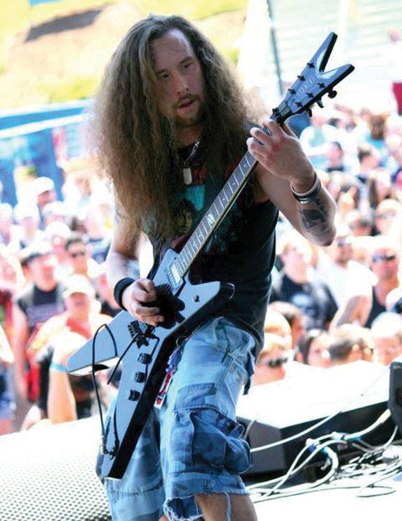 Metal band with borough guitarist wins award