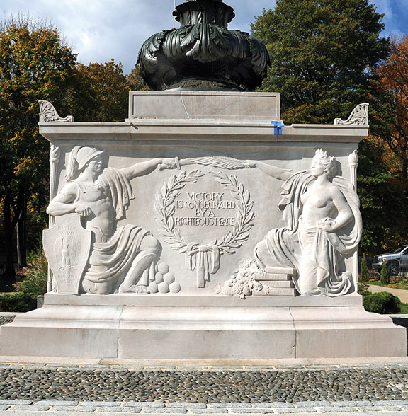 Restoration of WWI monument complete