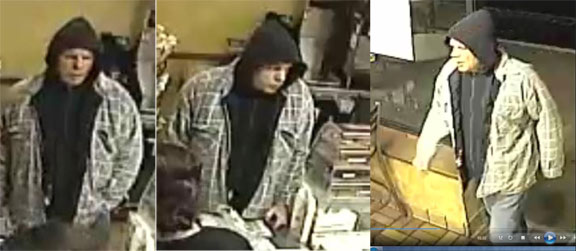 Police searching for robbery suspect