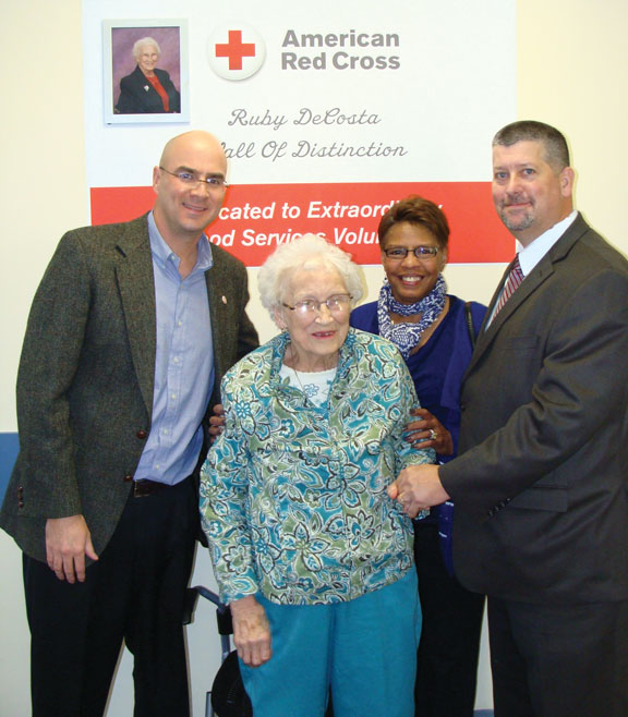 Red Cross honors Prospect woman