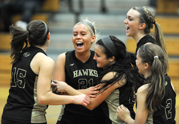 Hawks make school history with quarterfinal win