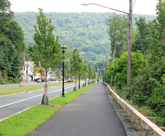 Beacon Falls greenway honored by economic center