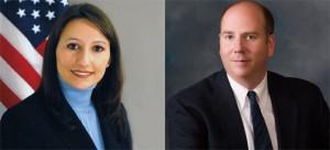 State representatives Rosa Rebimbas (R-70) and David Labriola (R-131).