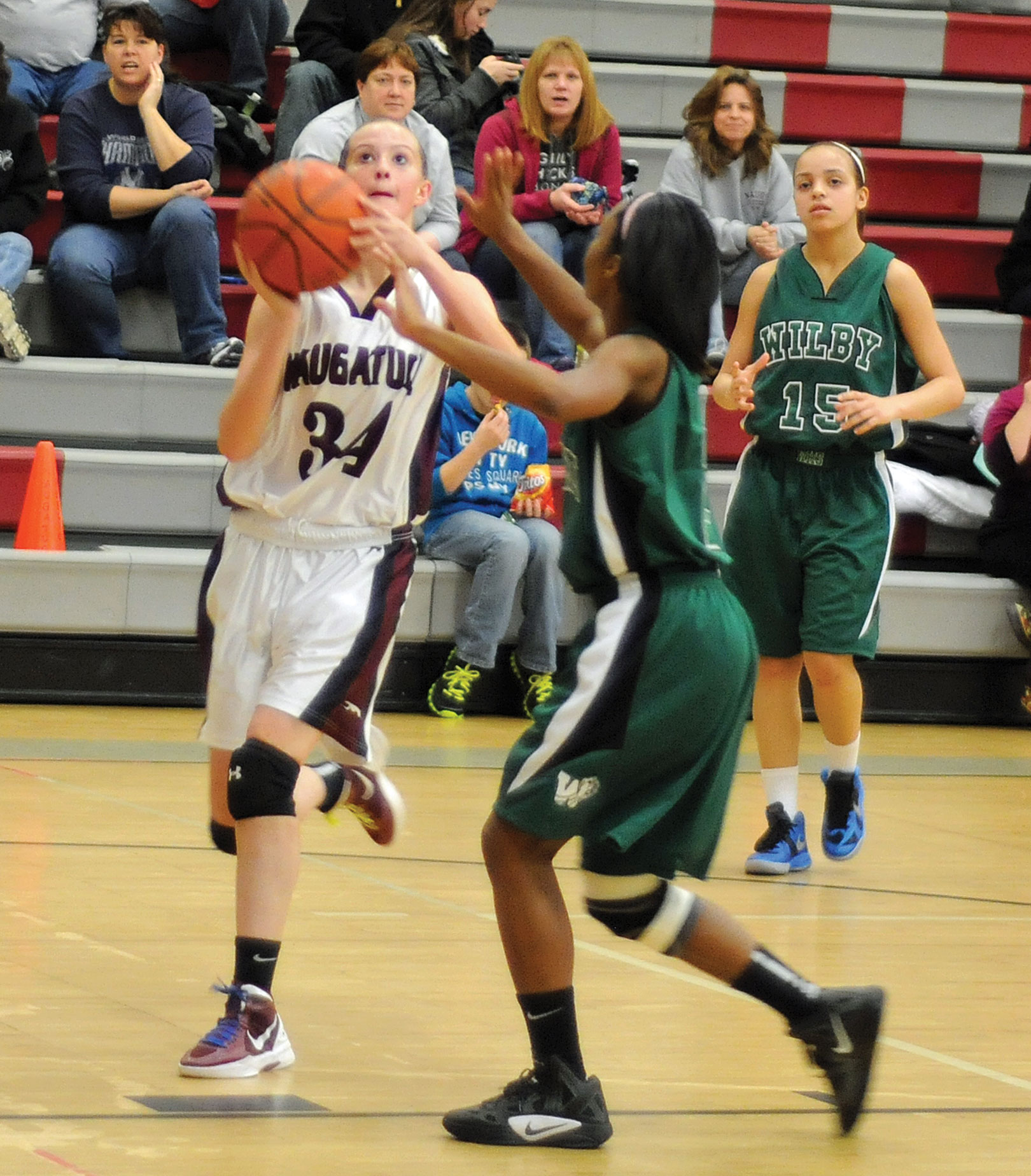 Naugy puts an end to losing streak