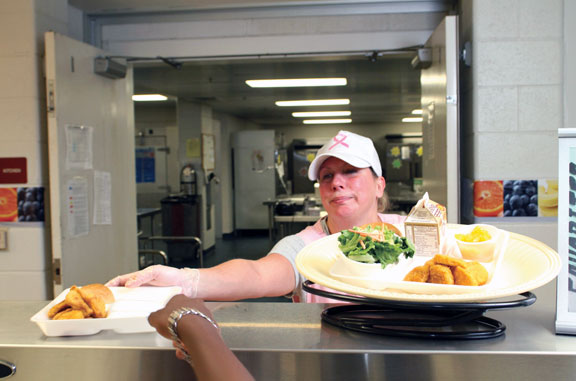 Borough schools ace food service audit