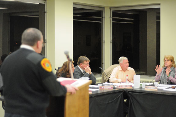 Board approves bids for new fire truck